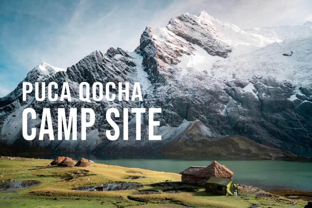 Puca Cocha Campsite on Ausangate Trail
