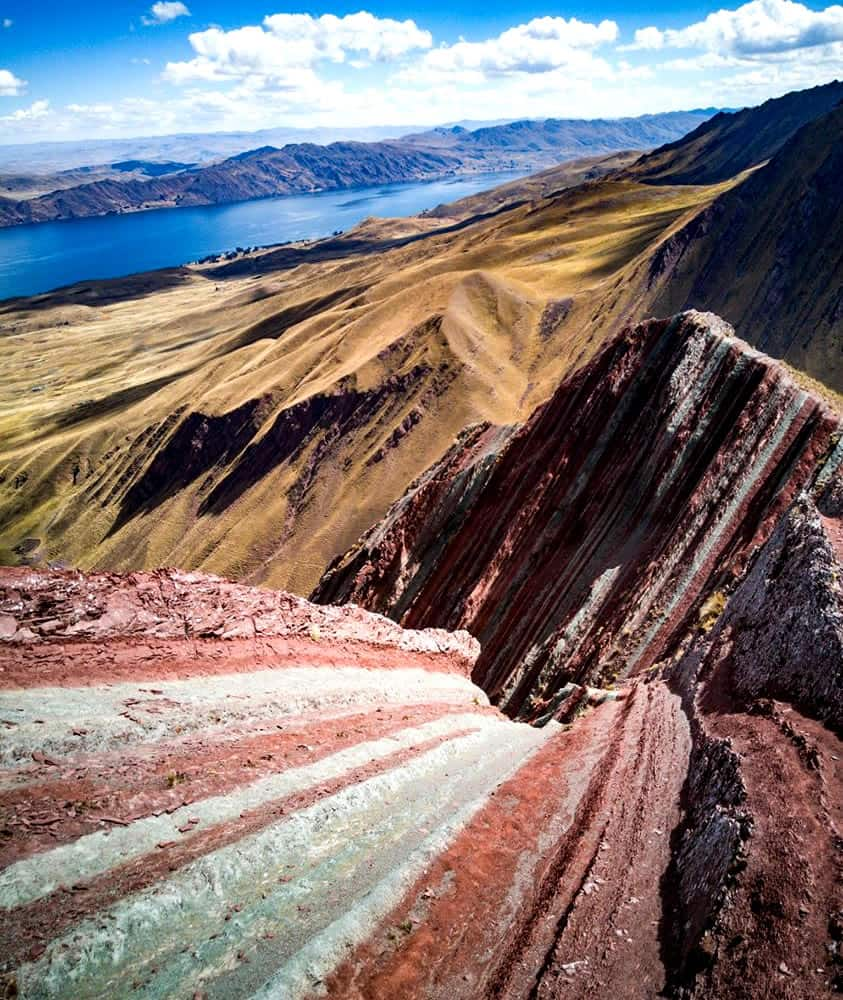 Rainbow mountain pallay punchu of apu tacllo