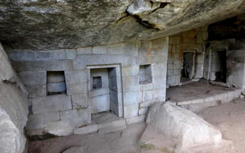 moon temple located in Huayna Picchu