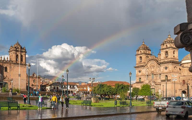 cusco on rainy season
