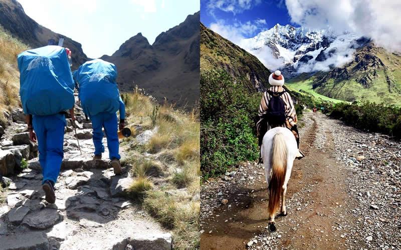 inca trail vs salkantay trek